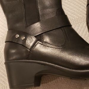 Clarks Shoes - Leather boots
